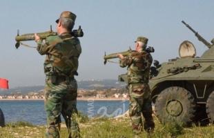 تدريبات روسية سورية مشتركة في طرطوس