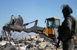 محدث .. قوات الاحتلال تواصل انتهاكاتها بهدم منازل وتجريف أراضي في عدد من محافظات الضفة