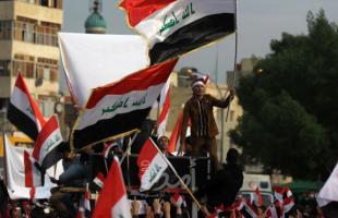 العراق: محتجو ساحة الحبوبي يُطالبون حكومة الكاظمي بالاستقالة