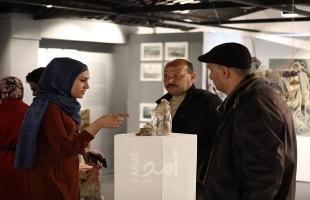 """""""خيال الظل"""" معرض فني جماعي لـ10 فنانين من غزة - صور"""