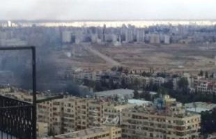 دمشق..إغلاق المجال الجوي السوري وإسقاط طائرة مسيرة تركية فوق إدلب