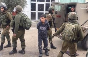 مركز فلسطين: 550 حالة اعتقال لأطفال قاصرين خلال العام 2020