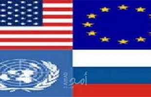 """روسيا تقترح لقاء لـ""""الرباعية"""" بمشاركة مصر والأردن والإمارات والبحرين وفلسطين وإسرائيل"""