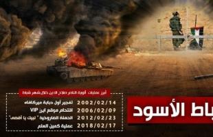 """لجان المقاومة وألوية الناصر تحيي الذكرى الثانية لعلية """"العلم"""" في خانيونس"""