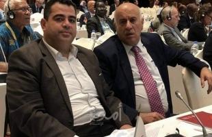 الرجوب يكلف عبد السلام إسماعيل هنية بمنصب رفيع بمجلس الشباب والرياضة