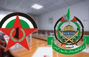 """حماس تهنئ """"الديمقراطية"""" بذكرى انطلاقتها الـ(51)"""