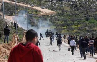محدث - قلقيلية: إصابة مصور صحفي وشاب برصاص الاحتلال خلال قمع مسيرة كفر قدوم
