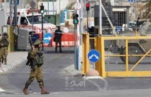 طولكرم: إصابة شاب برصاص الاحتلال على حاجز جبارة
