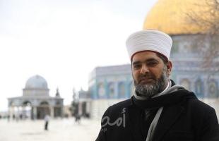 القدس: شرطة الاحتلال تستدعي مدير المسجد الأقصى للتحقيق