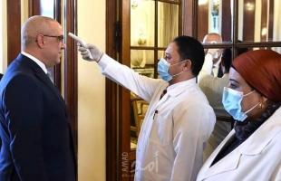 الصحة المصرية تجري فحصاً للوزراء للكشف عن فايروس كورونا