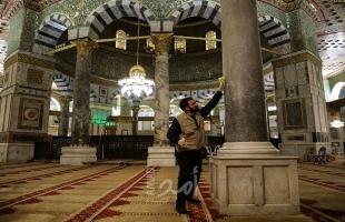 مجلس الأوقاف: استمرار تعليق دخول المصلين إلى المسجد الأقصى