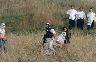 ثلاث إصابات خلال إعتداء للمستوطنين على عائلة جنوب نابلس