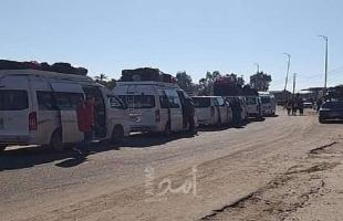 وصول (12) مريضاً عبر معبر رفح وتحويلهم للحجر الصحي بغزة