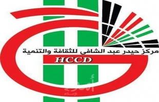 مركز حيدر عبد الشافي للثقافة والتنمية يطلق نداء من أجل التضامن مع قطاع غزة