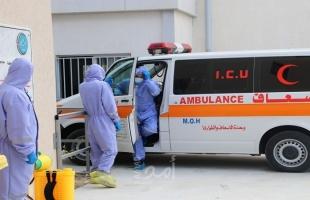 """بالصور- مستشفى غزة الأوروبي ينفذ مناورة للتعامل مع حالات """"كورونا"""""""