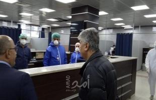 مجدلاني يتفقد مجمع فلسطين الطبي