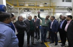وادي: سنقدم كافة التسهيلات الممكنة لدعم المنتجات المحلية بغزة