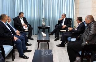 """خلال لقاء سعد بـ """"أشتية"""".. تخصيص 5 مليون شيكل لصندوق العمال الفلسطينيين"""