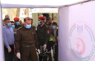 غزة: الخدمات الطبية تفتتح ممرات للتعقيم في المستشفى الجزائري