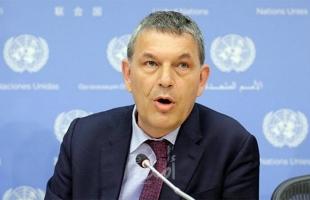 """لازاريني: لا تتوفر لدي أموال كافية لدفع رواتب موظفي """"الأونروا"""" ويدعو المجتمع الدولي للدعمه"""