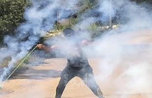 قلقيلية:  5 إصابات في مواجهات مع قوات الاحتلال بكفر قدوم