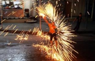 اقتصاد غزة تضبط وتصادر مفرقعات وألعاب أطفال ممنوعة