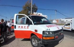 """إصابة الطفل """"أحمد الشافعي"""" إثر سقوط حجر بناء على رأسه وسط قطاع غزة"""