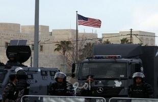 إطلاق نار في محيط السفارة الأمريكية في الأردن