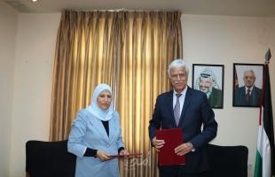 رام الله : شؤون المرأة و التربية توقعان اتفاق الإطار المرجعي لمتابعة قضايا النوع الاجتماعي بالتعليم