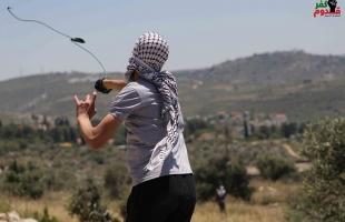 قلقيلية: إصابة 4 شبان بالرصاص المعدني خلال قمع جيش الاحتلال لمسيرة كفر قدوم