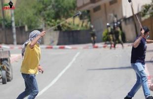 قلقيلية: إصابة العشرات بالاختناق في مواجهات مع جيش الاحتلال في كفر قدوم