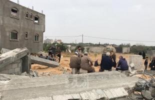 """عائلة شعث لـ""""أمد"""": لدينا أوراق تثبت ملكيتنا للأرض وسلطة غزة رفضت قبولها- فيديو وصور"""