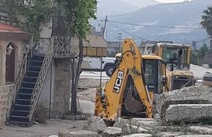 قوات الاحتلال تهدم منزلاً قيد الإنشاء بمسافر يطا جنوب الخليل