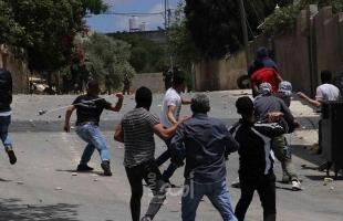 إصابة شاب برصاص جيش الاحتلال خلال الاعتداء على مسيرة كفر قدوم الأسبوعية
