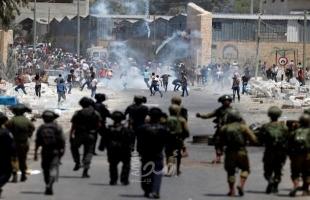 محدث.. إصابات بالاختناق واعتقالات خلال مواجهات واقتحامات لجيش الاحتلال بالضفة