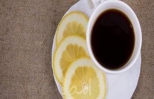 فوائد شرب القهوة بالليمون