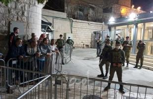 """""""الأوقاف"""" تندد بشروع سلطات الاحتلال في بناء المصعد الكهربائي بالحرم الإبراهيمي"""