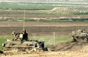 قوات الاحتلال تمسح أراضي واسعة في الخضر جنوب بيت لحم
