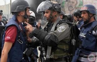 مدى: 237 انتهاكاً ضد الحريات الإعلامية خلال النصف الأول من العام الجاري ارتكب جيش الاحتلال معظمها