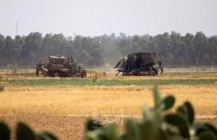 توغل محدود لجرافات جيش الاحتلال شرق البريج