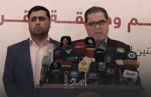 حماس تدعو إلى الاتفاق على بناء استراتيجية وطنية وتحريم التنسيق الأمني