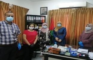 تنمية رام الله تلتقي إغاثة اطفال فلسطين ولجنة السلامة العامة بالخليل تنفذ جولة ميدانية
