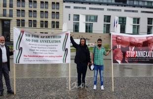 نشطاء فلسطينيون وألمان يستنكرون قرار الضم الإسرائيلي ويطالبون بمعاقبتها