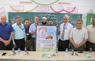 مركز تجهيز امتحانات الثانوية العامة بخانيونس يكرّم عطية أبو نمر