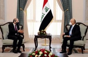 الصفدي ينقل رسالة من الملك الأردني إلى الرئيس العراقي