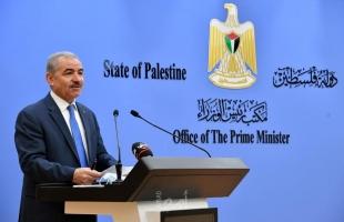 اشتية: على إسرائيل أن تختار بين حل الدولتين أو الذوبان الديمغرافي