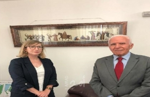 الأحمد يبحث مع ممثلة كندا تطورات الأوضاع ومخططات الضم الإسرائيلية