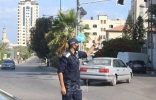 مرور غزة: حادث سير واحد ولا إصابات خلال 24 ساعة في قطاع غزة