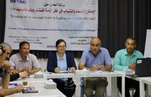 """باحثون فلسطينيون يطالبون بمشاركة النساء والشباب في جهود مواجهة """"كورونا"""" وإنقاذهم من الفقر"""