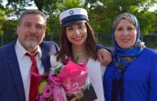 """الفلسطينية """"ياسمين اليوسف"""" تحصل على أعلى معدل بالثانوية العامة في الدنمارك"""